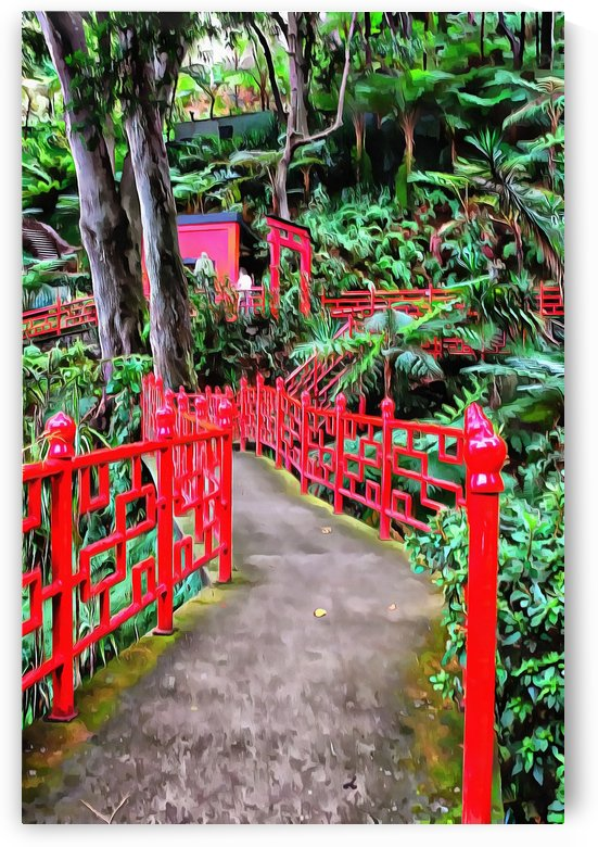 Oriental Gardens Madeira 5 by Dorothy Berry-Lound