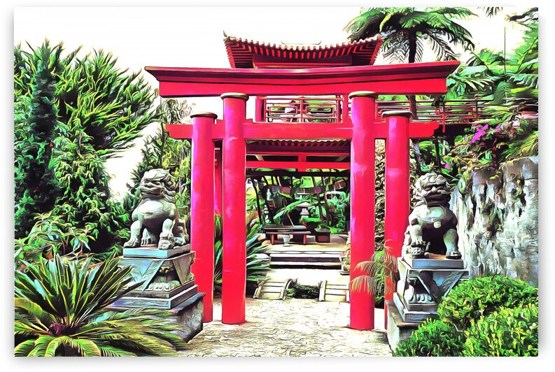 Oriental Gardens Madeira 6 by Dorothy Berry-Lound