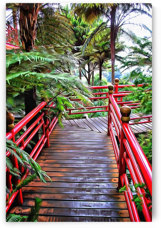 Oriental Gardens Madeira 8 by Dorothy Berry-Lound
