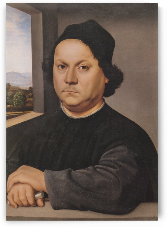 Retrato de Pietro Perugino by Raphael