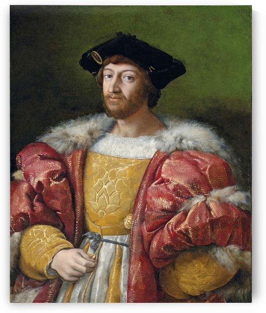 Portrait of Lorenzo di Medici by Raphael