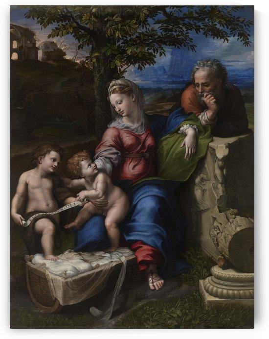 Holy Family below the Oak by Raphael