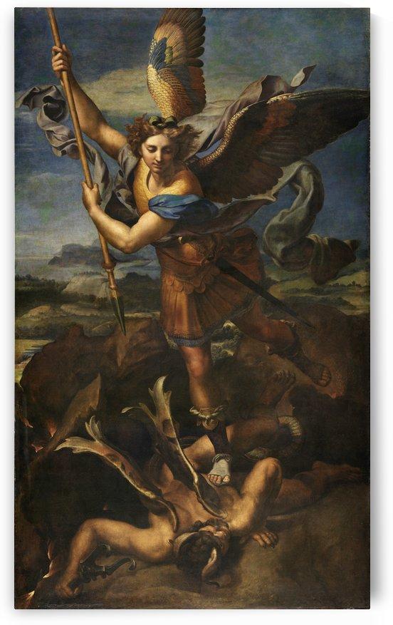 Le Grand Saint Michel by Raphael