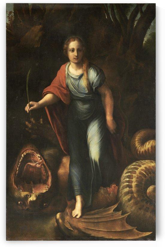 Sainte Marguerite by Raphael