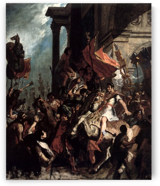 The Justice of Trajan by Eugene Delacroix