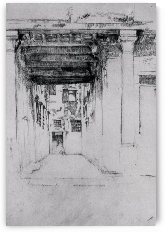 Venetian Court by Whistler by Whistler