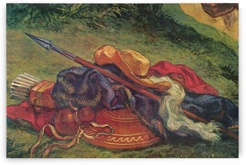 Ol- und Wachsfarben, Putz by Eugene Delacroix