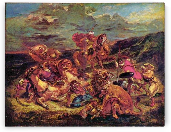Leinwand by Eugene Delacroix