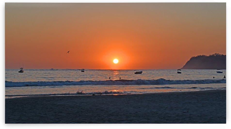 Costa Rica Sunset by Senthia Sanders