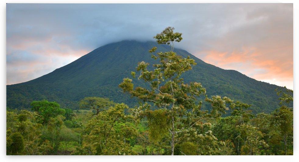 Arenal Volcano Costa Rica by Senthia Sanders