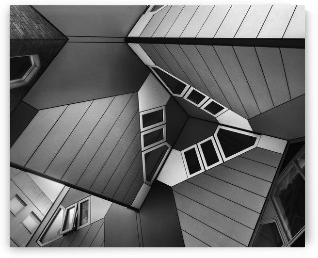 Cube Houses I by Minas Stratigos