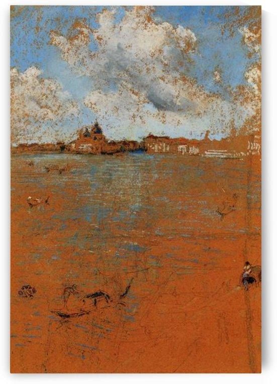 Venetian scene by Whistler by Whistler