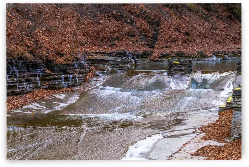 Stoney Brook Falls 4 by William Norton Photography