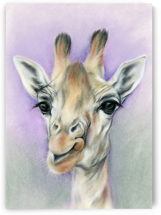 Giraffe with Beautiful Eyes by MM Anderson