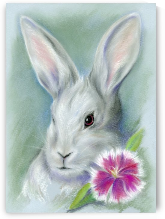 Sweet William Bunny Rabbit by MM Anderson