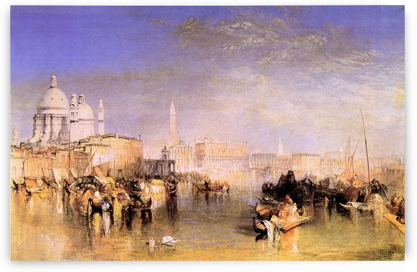 Venice from the canal by Joseph Mallord Turner by Joseph Mallord Turner