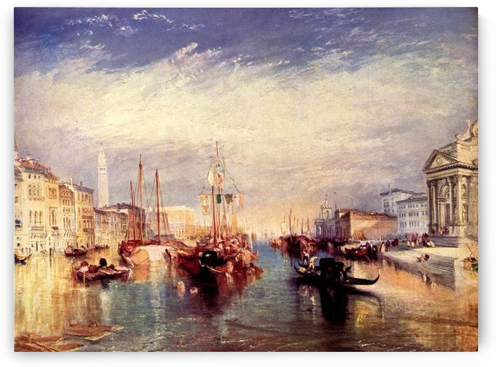 Venice from the porch of Madonna by Joseph Mallord Turner by Joseph Mallord Turner