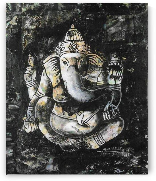 ganesha by kirtiraj mhatre