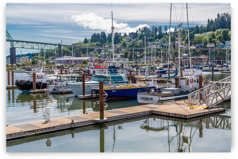 Astoria Marina by Darryl Brooks