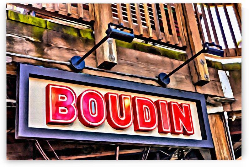 Boudin Bakery Sign by Darryl Brooks