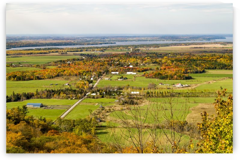 View of Ottawa Valley in Autumn 24 by Bob Corson