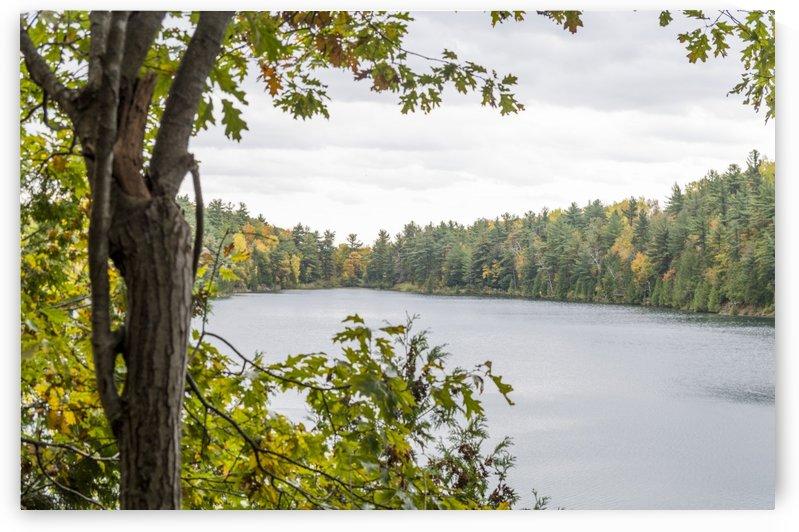 Autumn on Pink Lake 24 by Bob Corson