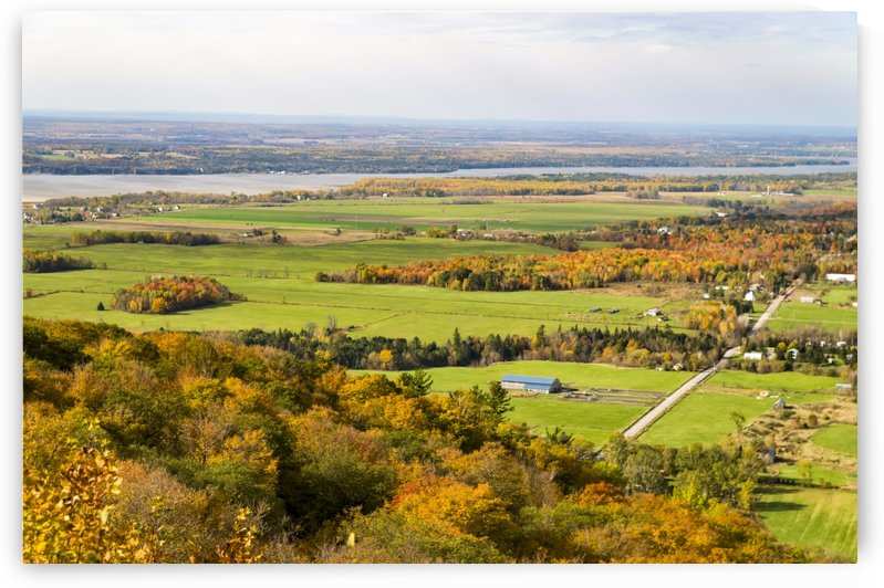 View of Ottawa Valley in Autumn 26 by Bob Corson