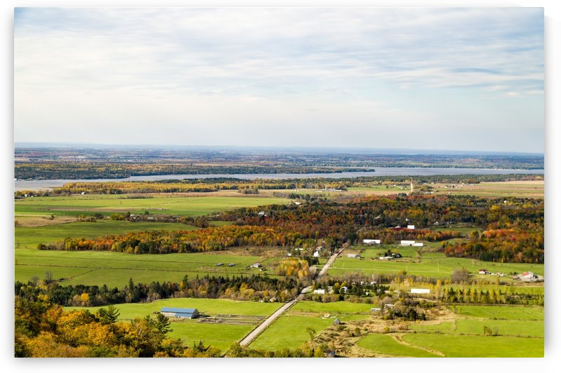 View of Ottawa Valley in Autumn 29 by Bob Corson