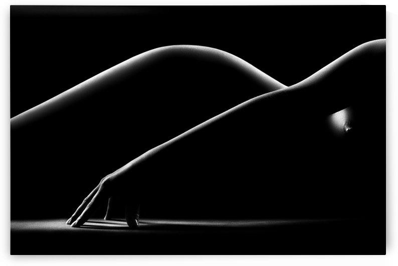 Nude woman bodyscape 31 by Johan Swanepoel