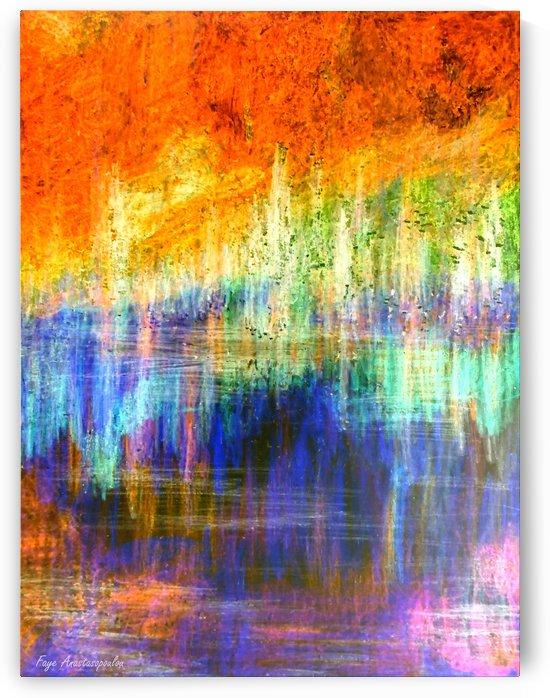 Lake Sunset by Fotini Anastasopoulou