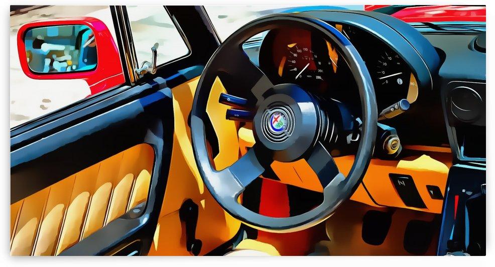 Alfa Romeo 3 Through the Window by Dorothy Berry-Lound