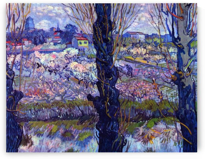 View of Arles by Van Gogh by Van Gogh