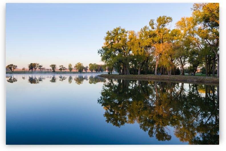 Fall Still Water by Garald Horst