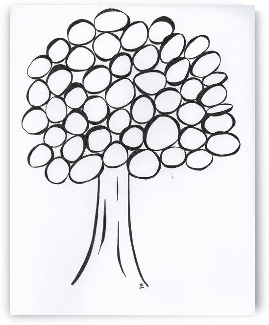 Black & White Tree by EF Kelly