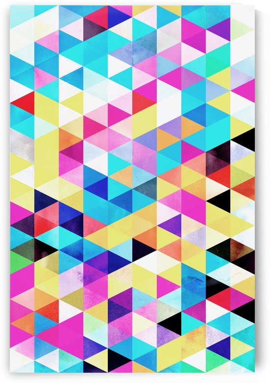 Vivid Pattern XV by Art Design Works