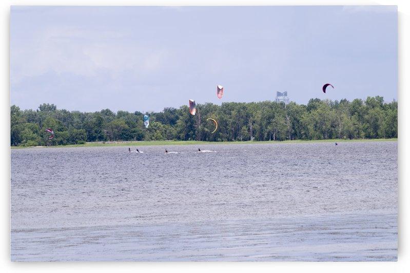Parasailing on the Ottawa River 9 by Bob Corson