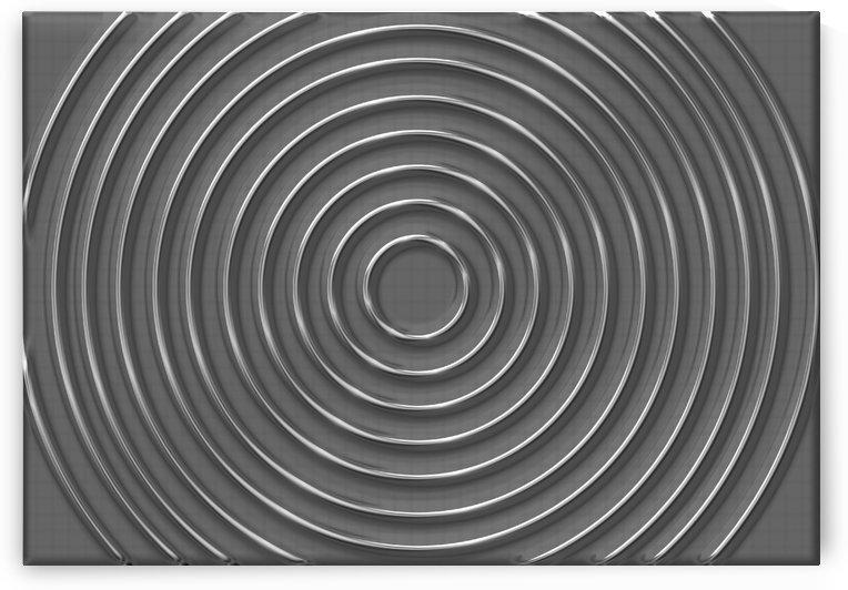 metallic circles background by CiddiBiri