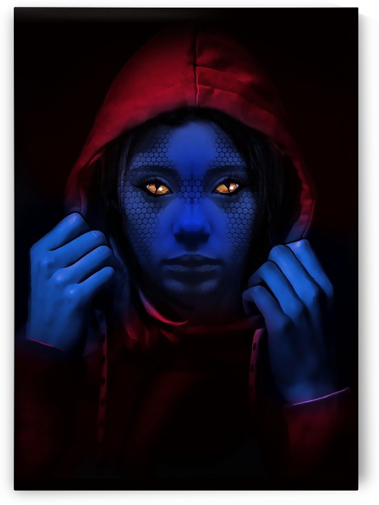 Blue Indigo by Andreas AK