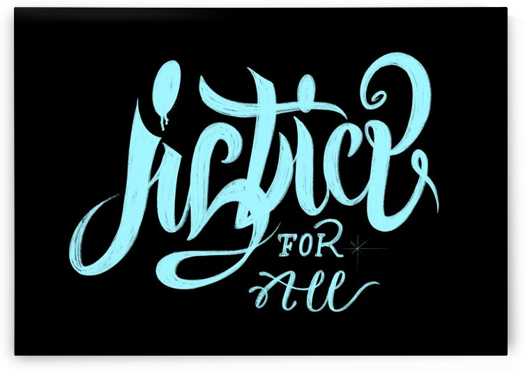 JUSTICE FOR ALL  by Guillaume Laserson