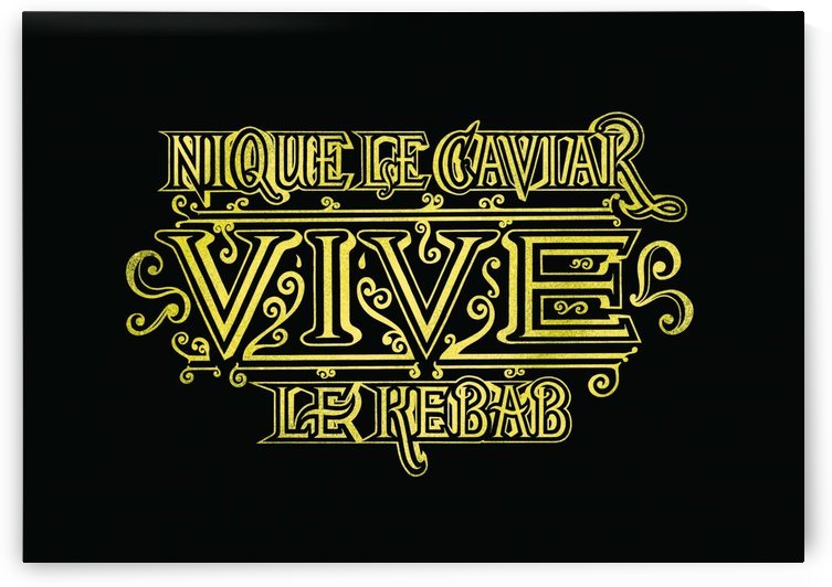 CAVIAR VS KEBAB by Guillaume Laserson