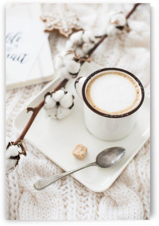 Warm white winter by Daria Minaeva