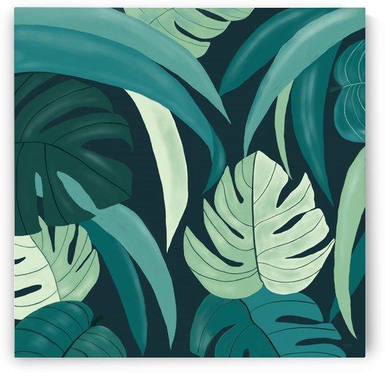 Tropical Leaves  by Gabriella David