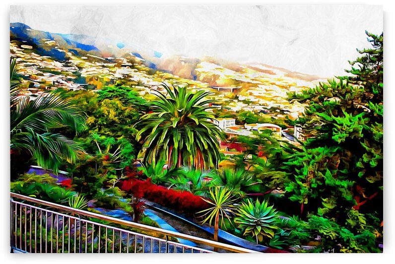 Funchal View Madeira 5 by Dorothy Berry-Lound