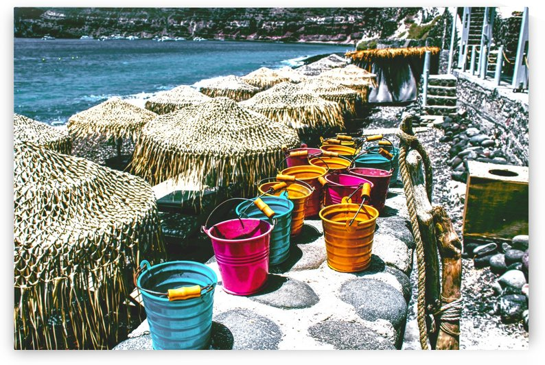 Landscape -  Buckets  by Bentivoglio Photography