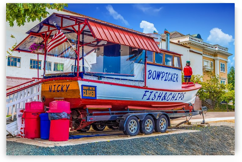 Bowpicker Fish and Chips by Darryl Brooks
