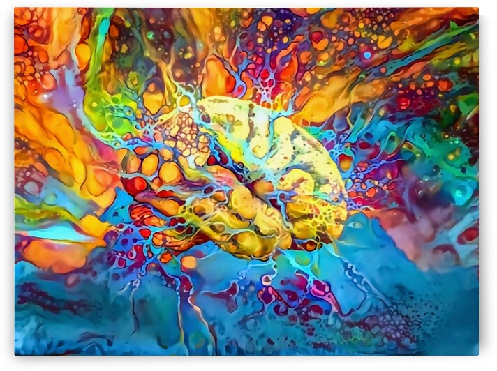Psychedelic Brain by Bruce Rolff