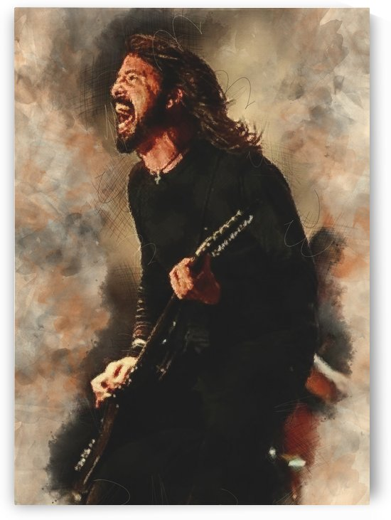 Dave Grohl by Gunawan Rb