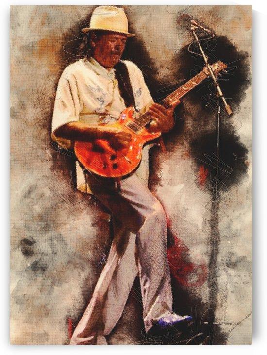 Carlos Santana by Gunawan Rb