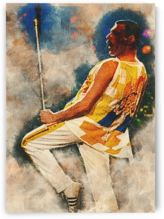 Freddie Mercury Live by Gunawan Rb