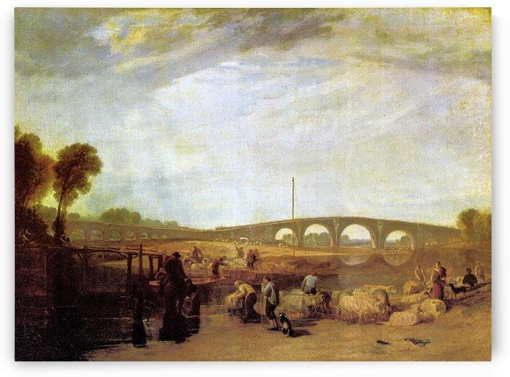 Walten bridges by Joseph Mallord Turner by Joseph Mallord Turner